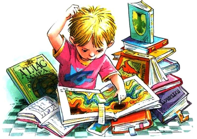 Чтение картинки для детей